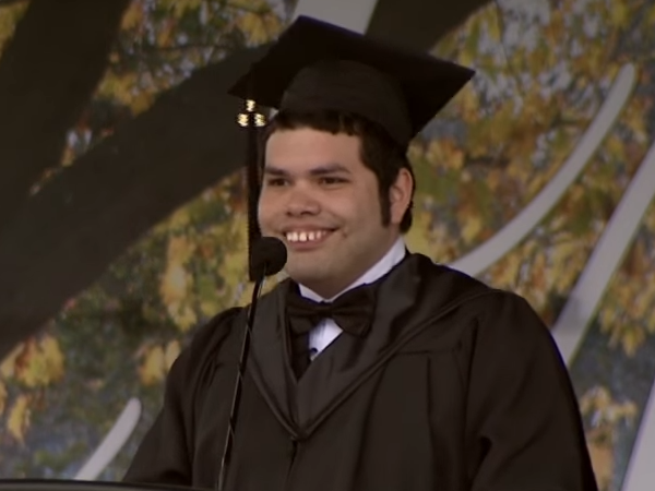 Daniel Castellanos — First Integrated Studies Graduate At Millersville University